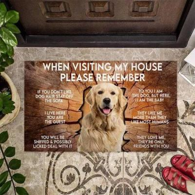 When Visiting My House Please Remember