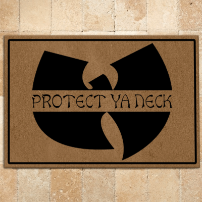 Wu-tang Doormat Protect Ya Neck