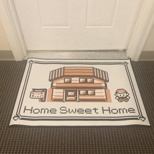 Pokemon Home Sweet Home Rug