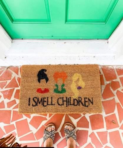 Hocus Pocus Inspired Doormat