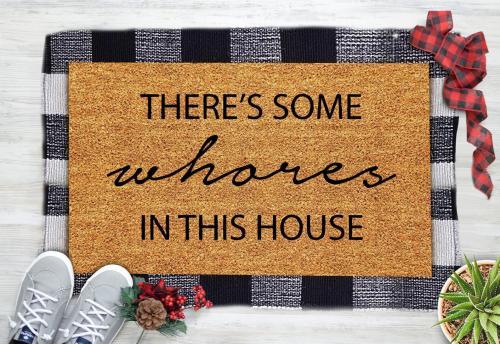 Cardi B Inspiration Doormat