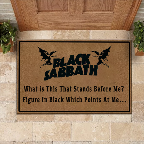Black Sabbath Doormat