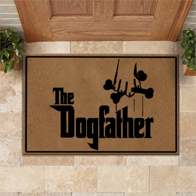 The Dog Father Doormat