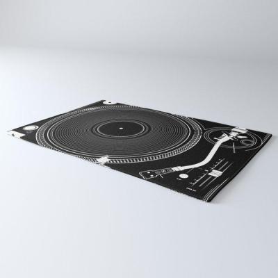 DJ TURNTABLE DOORMAT