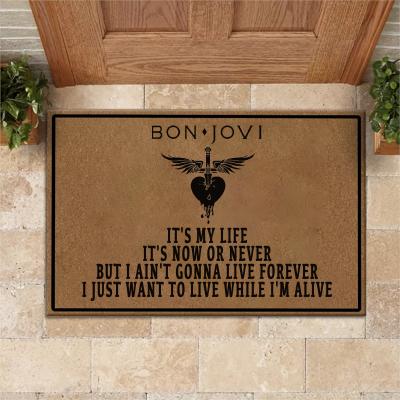 BON JOVI It's my life Doormat