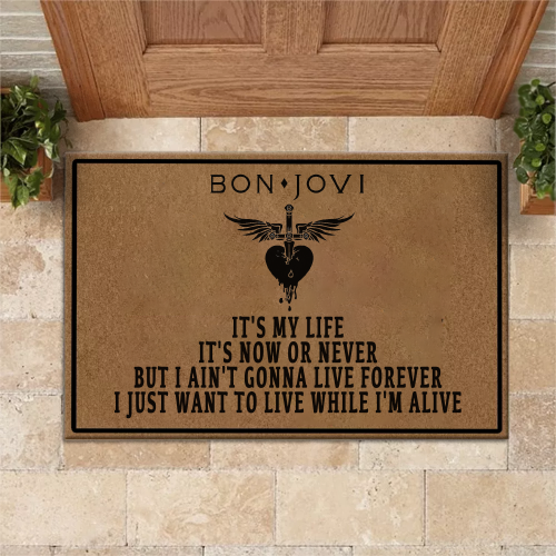 BON JOVI It's my life Doormat