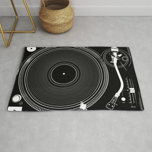 DJ TURNTABLE DOORMAT