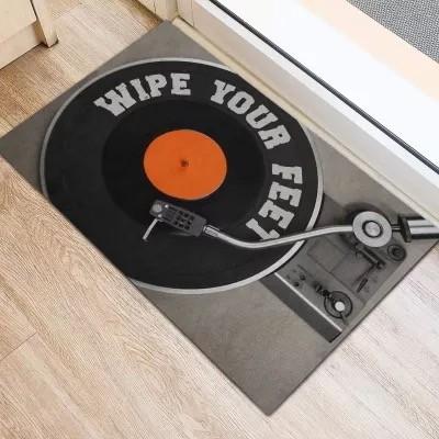 Dj Wipe Your Feet Doormat | Welcome Mat