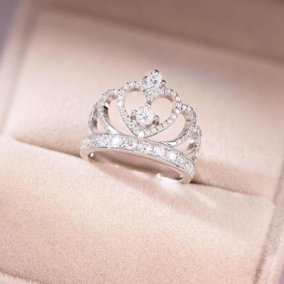 S925 CROWN RING