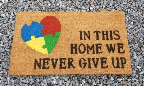 Never Give up Doormat