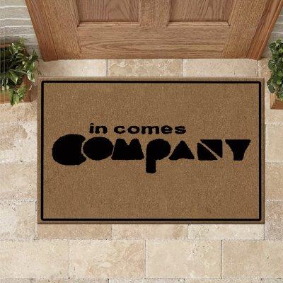 In Comes Company Doormat