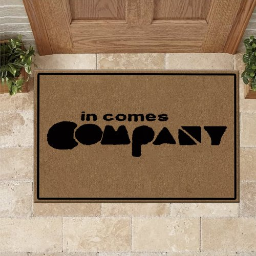 In Comes Company Doormat