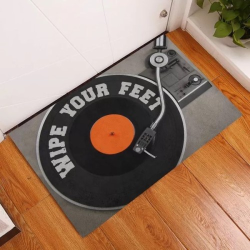Dj Wipe Your Feet Doormat | Welcome Mat