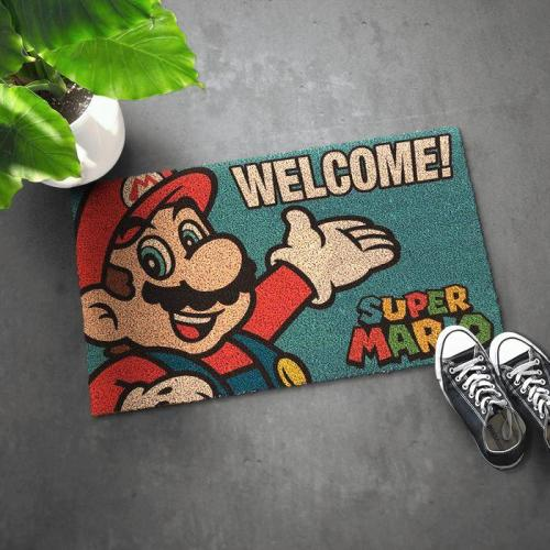 Super Mario Welcome Doormat