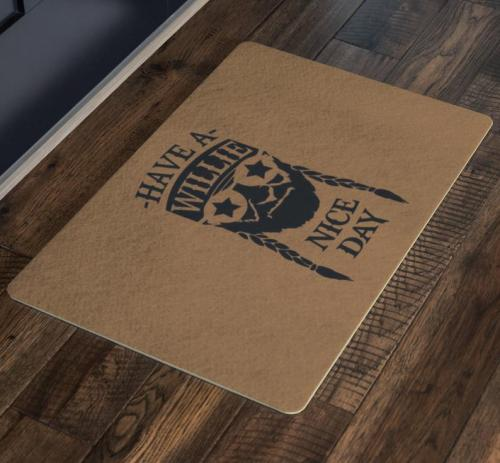 Willie Nelson Doormat