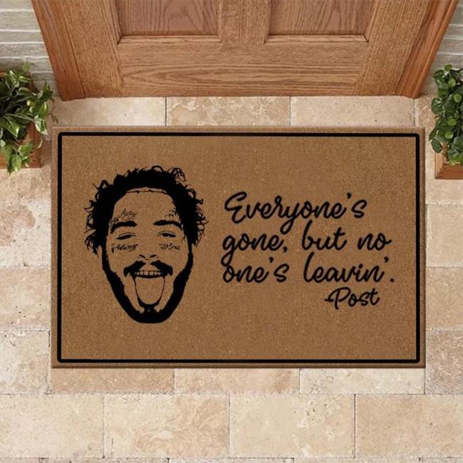 Post Malone Print Doormat