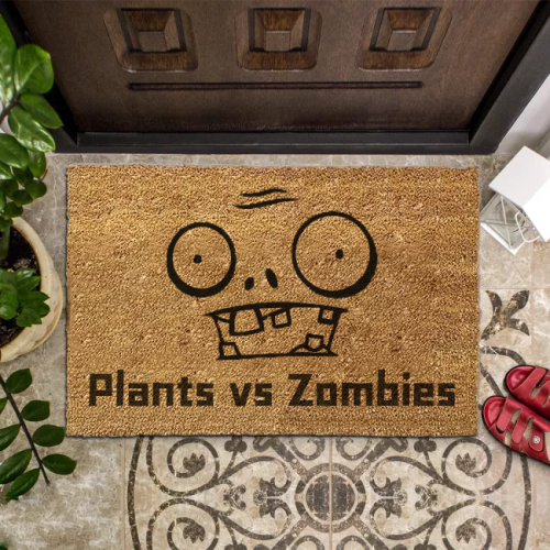 Plants vs. Zombies Inspiration Doormat