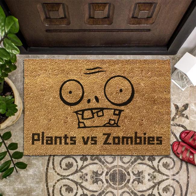 Plants vs. Zombies Inspiration Doormat
