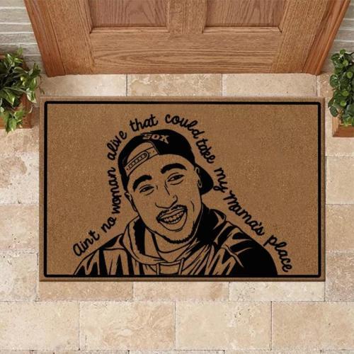 2PAC Print Doormat
