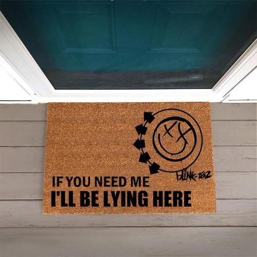 Blink-182 Inspiration Doormat