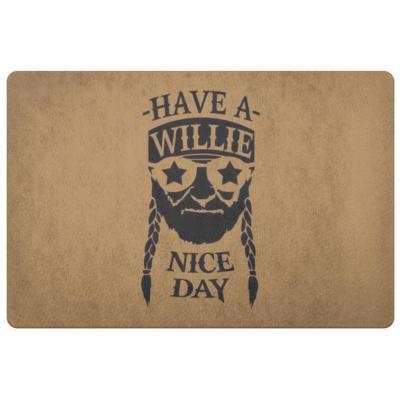 Willie Nelson Doormat
