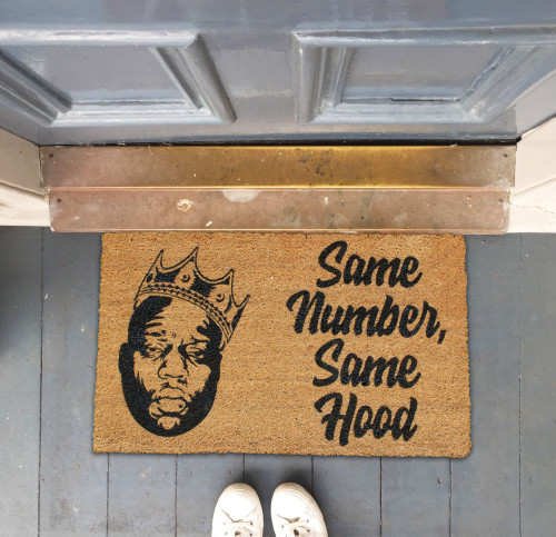 Biggie Smalls Doormat
