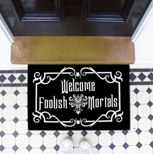 Haunted Mansion Inspired Welcome Mat