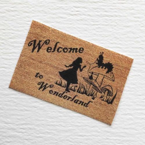 Welcome To Wonderland Doormat