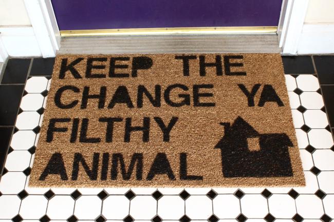 Home Alone Doormat