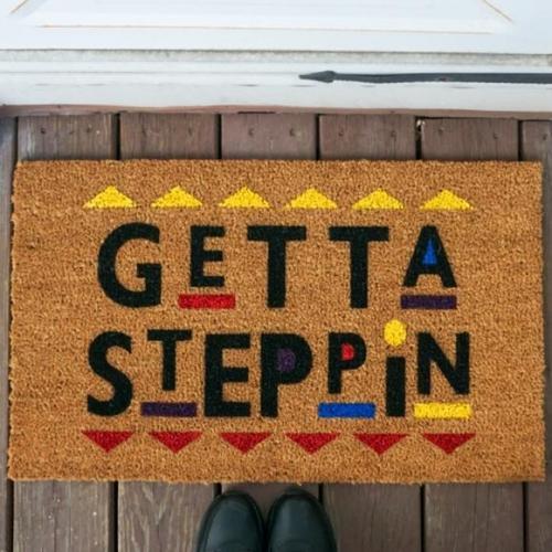 Get ta steppin Doormat