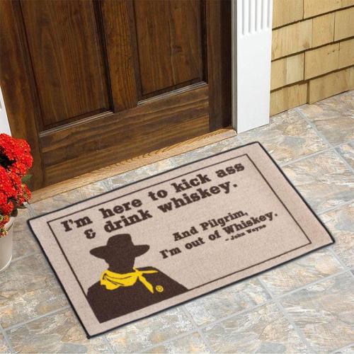 John Wayne Inspiration Doormat