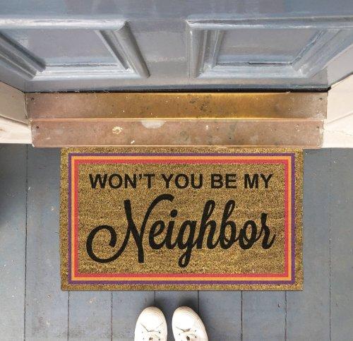 Mister Rogers Inspiration Doormat
