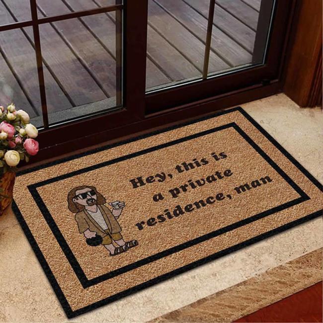 The Big Lebowski Doormat