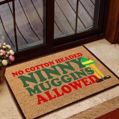 Elf Movie Inspiration Doormat