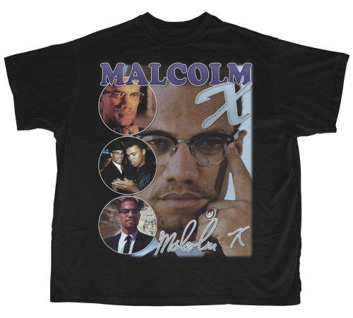 Malcolm X Design T-Shirt