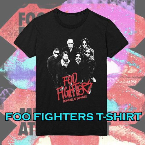 FOO FIGHTERS BLACK T-Shirt