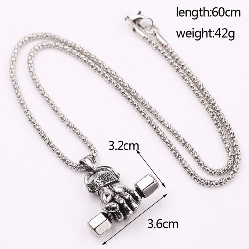 UFC Fitness Dumbbell Necklace