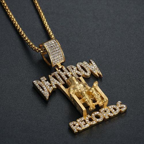 Tupac pendant jewellery bling Gold