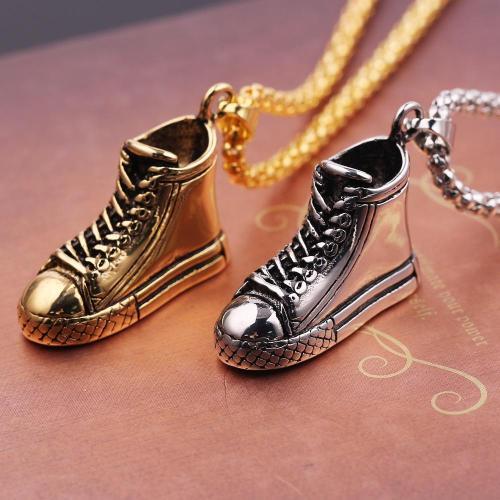 Converse Shoes Pendant Necklace