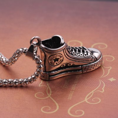 Converse Shoes Pendant Necklace