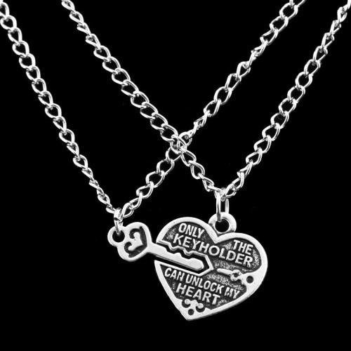 Best Friend Chain Pendant Key Chain Necklace