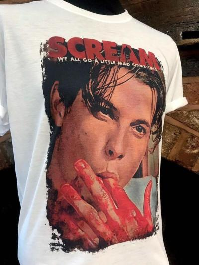 Scream Movie T-shirt. Billy Loomis - Skeet Ulrich.