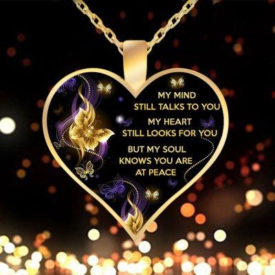 Still Remeber You Heart Shape Necklace
