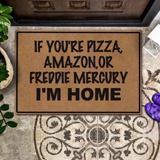 FREDDIE MERCURY Doormat