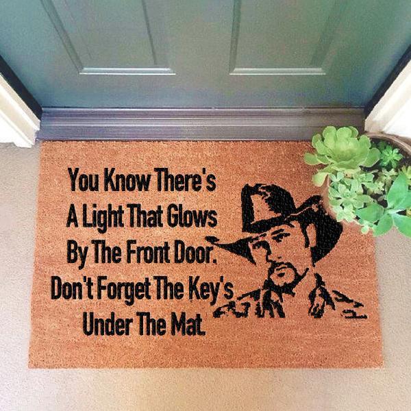 Tim McGraw Doormat