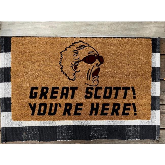 Dr. Emmett Brown Doormat