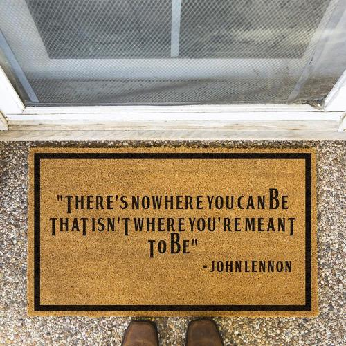 Johnlennon Said Doormat