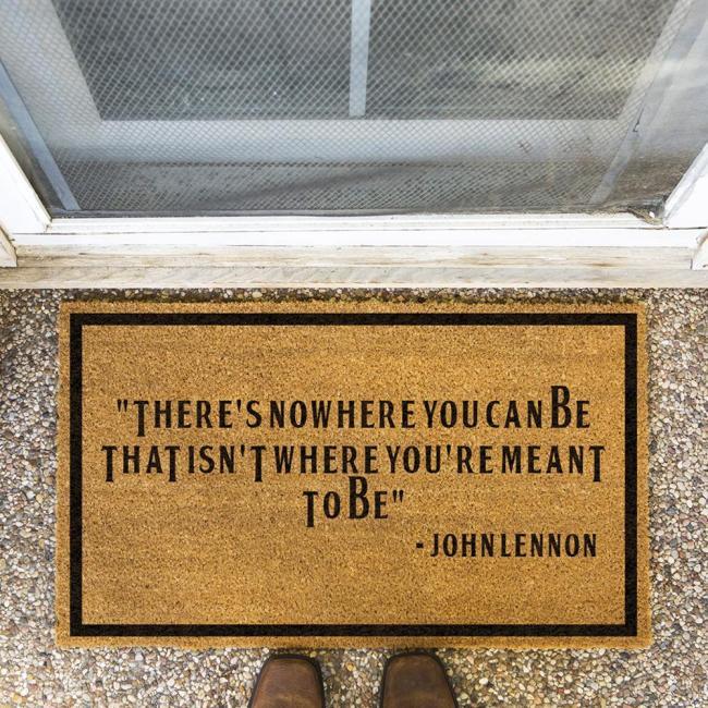 Johnlennon Said Doormat