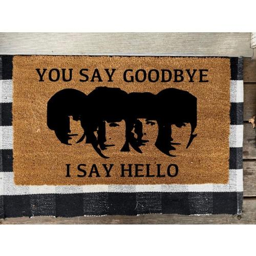 The Beatles Design Doormat