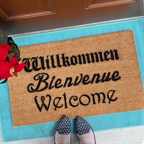 Schitt's Creek Design Doormat